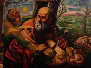 1. El sacrifici d'isaac